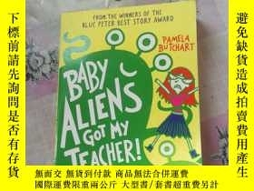 二手書博民逛書店BABy罕見ALlENS GOT My TEACHER!Y273