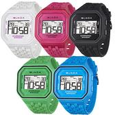 [EYE DC] JAGA 捷卡 M1007 方形時尚休閒錶 多功能電子錶 運動錶 女錶/男錶/中性錶/手錶 (五色可選)