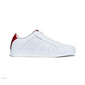 【南紡購物中心】【Royal Elastics】Icon Genesis 白紅真皮運動休閒鞋 (男) 01902-001