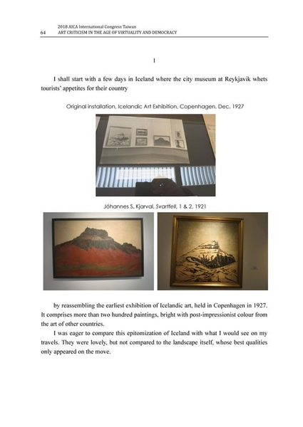 2018 AICA International Congress Taiwan: Art Criticism in the Age of Vir..