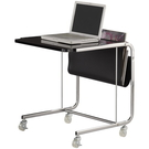 【藝匠】黑色移動便利桌,移動邊桌,電腦桌,小邊桌,小茶几(三色)