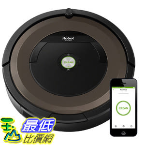 [106美國直購] iRobot Roomba 890 Robot Vacuum with Wi-Fi Connectivity + Manufacturers Warranty 機器人吸塵器