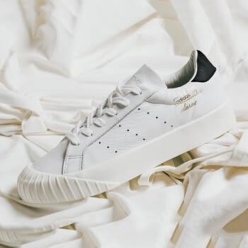 quality design 41c86 91da9 Adidas EVERYN W 白皮革經典復古餅乾鞋女CQ2042 ☆speedkobe☆