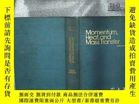 二手書博民逛書店MOMENTUM罕見HEAT , AND MASS TRANSF