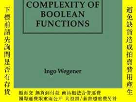 二手書博民逛書店The罕見Complexity Of Boolean Functions (wiley Teubner On Ap