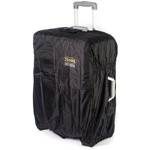 YESON 18-21吋 第二代耐磨尼龍布防潑水行李箱防塵套 MG-8黑