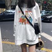 衛衣女春秋2020寬鬆韓版潮慵懶風薄款上衣早開春外套