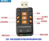 【生活家購物網】音效卡 外置音效卡 獨立音效卡 WIN7免驅 即插即用 桌機筆電音效卡