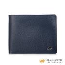 【BRAUN BUFFEL】防盜系列8卡皮夾 -深藍色 BF324-N313-MAR