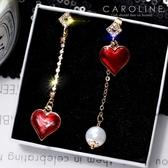 《Caroline》★韓國熱賣造型時尚浪漫風格優雅性感耳環70282