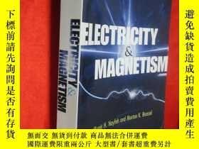二手書博民逛書店Electricity罕見and Magnetism (小16開