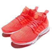 【六折特賣】Nike 魚骨鞋 Wmns Air Presto Flyknit Ultra 橘 白 針織鞋面 襪套 女鞋【PUMP306】 835738-800