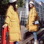 冬季棉衣服女中長款新款韓版bf羽絨棉服棉襖ins面包服外套潮  潮流衣舍