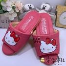 【樂樂童鞋】Hello Kitty室內拖鞋 S893 - 女童鞋 室內拖鞋 居家鞋 防滑 兒童鞋 海灘鞋 台灣製 MIT
