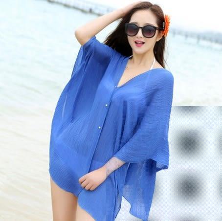 [協貿國際]  女士春秋防紫外線防曬披肩夏季電動車罩衫 (1入)