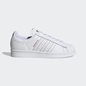 Adidas Superstar W [FX1203] 女鞋 運動 休閒 慢跑 經典 百搭 貝殼 基本 愛迪達 白紅