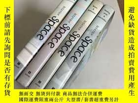 二手書博民逛書店Interior:Space(1罕見2 3 4)4本合售 精裝1