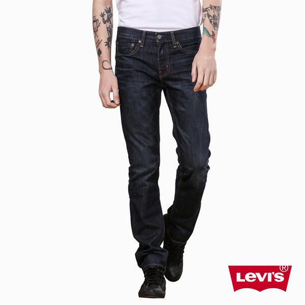 Levis 男款 511 低腰修身窄管牛仔褲 / 原色基本款 / 彈性布料