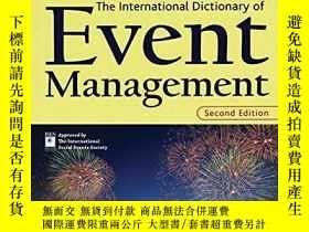 二手書博民逛書店The罕見International Dictionary Of Event Management (the Wi
