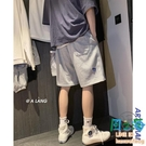 夏季男士衛褲休閒外穿短褲寬鬆潮流五分褲運動沙灘褲【風之海】