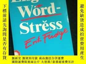 二手書博民逛書店English罕見Word-StressY16149