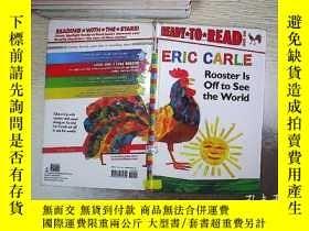 二手書博民逛書店ERIC罕見CARLE ROOSTER LS OFF TO SEE THE WORLD 埃里克·卡尔鲁斯特要去看世