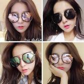 墨鏡女韓版新款眼鏡明星款太陽鏡防陽光圓臉個性開車潮