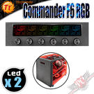 [ PC PARTY ] 曜越 Thermaltake Commander F6 RGB LCD風扇控制器