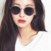 FAKE ME 太陽眼鏡 FM TOOLIN BSV (銀-灰鏡片) 文青圓框款 墨鏡  # 金橘眼鏡