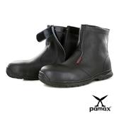 PAMAX 帕瑪斯【高抓地力橡膠大底】★中筒內側拉鍊★皮革製安全鞋※ PZ31301FEH男女