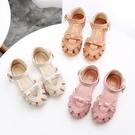 2020夏季新款包頭兒童鞋公主鞋女童涼鞋中小童軟底寶寶防滑沙灘鞋