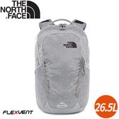 【The North Face 26.5L VAULT 後背包《灰》】3KV9/電腦包/書包/15吋筆電包/後背包