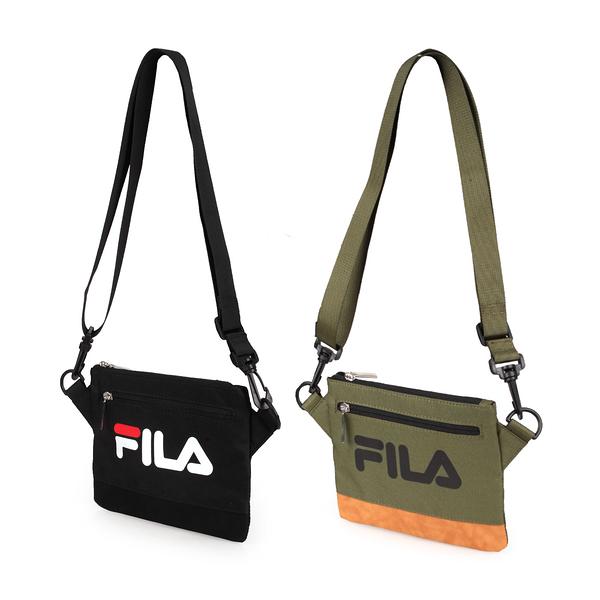 FILA 雙色拼接斜跨包(斜背包 肩背包 側背包 復古≡體院≡ BMT-9008