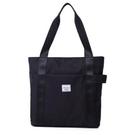 手提包 帆布袋單肩手提斜挎包女大容量學生書包托特旅行包【快速出貨八折搶購】