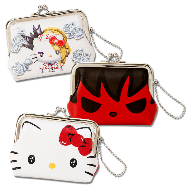Hello Kitty零錢包 百變造型零錢包/收納包/手拿包 [喜愛屋]