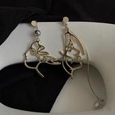 珍珠人臉耳環女抽象設計感時尚氣質耳墜高級感大氣耳飾【小酒窝服饰】