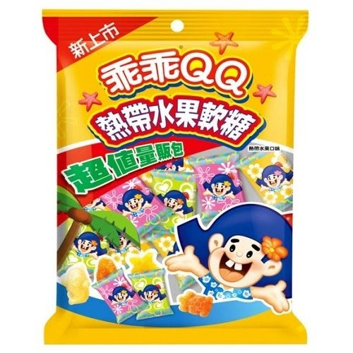 乖乖 QQ熱帶水果軟糖經濟包【合迷雅好物超級商城】