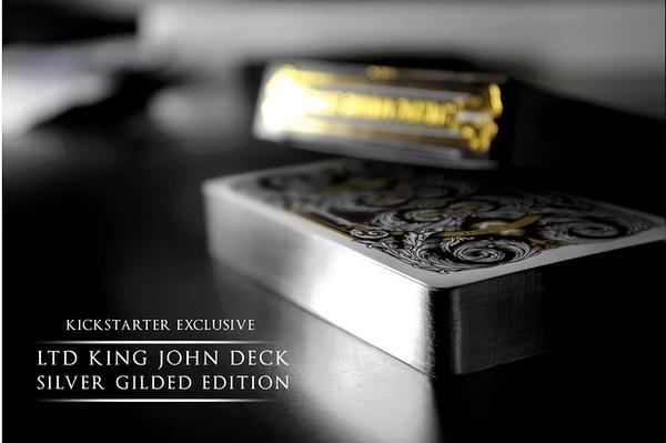 【USPCC撲克】King John Edition Deck-Silver Gilded