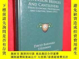二手書博民逛書店Suspension罕見Bridges and Cantilev