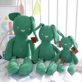可咬安撫兔子公仔毛絨玩具嬰兒睡覺抱枕布娃娃玩偶女孩小寶寶禮物安撫玩偶·樂享生活館