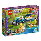 樂高 LEGO 41364 斯蒂芬妮的越野車和拖車