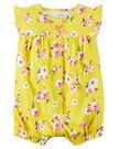 【美國Carter's】純棉連身衣- 夏日花卉系列 #118G942