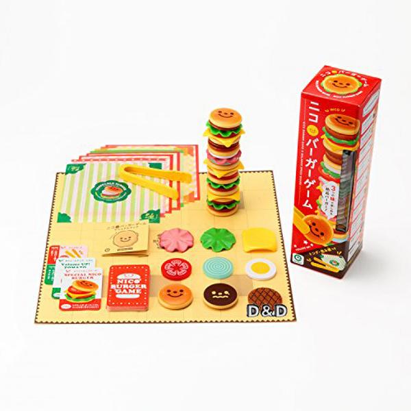 《 日本 EyeUp 》漢堡疊疊樂╭★ JOYBUS玩具百貨