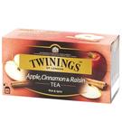 英國唐寧茶 TWININGS-異國香蘋茶包 APPLE,CINNAMON&RAISIN 2g*25入/盒-【良鎂咖啡】