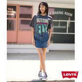 Levis T恤 女裝 / 短袖純棉TEE / 經典501印花 / 黑色