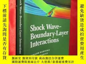 二手書博民逛書店Shock罕見Wave-boundary-layer Inter