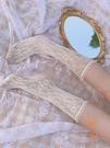 2雙裝 小腿襪日系鏤空網紗蕾絲襪子薄款透氣蕾絲花邊堆堆襪【橘社小鎮】