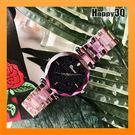 流行手錶鋼帶手錶女錶星空水鑽防潑水石英手錶【AAA2627】預購