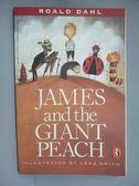 【書寶二手書T1/原文小說_IMV】James and the Giant Peach_Dahl, Roald