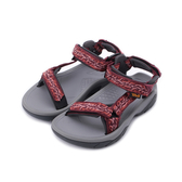 TEVA TERRA FI 5 UNIVERSAL 織帶涼鞋 圖紋橘紅 TV1099443MMNG 女鞋